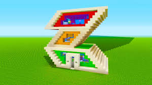 Minecraft is an open sandbox game that serves as a great architecture entry point or simulator. Minecraft Tutorial How To Make A Weird Modern House Youtube