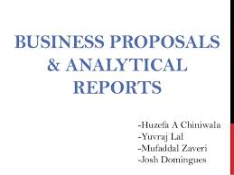 business reports examples business proposals analytical reports