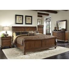 ... Large Picture Of Liberty Furniture Industries Inc. Rustic Traditions  589 BR QSL Queen HD