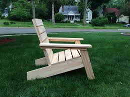 modern adirondack chair by drainyoo modern adirondack chair plans pdf
