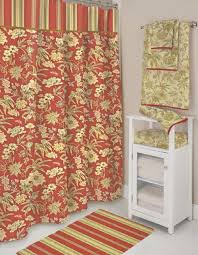 shower curtain rug and towel set best curtains home