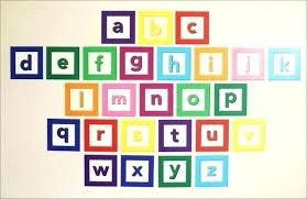 alphabet letters for wall wall decor alphabet letters wall decal design colourful alphabet decals