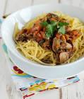 10 minute mushroom spaghetti sauce