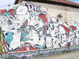 this large legal work on the side of a house in henry st brunswick is a tribute to dr seuss s ilrated children s books