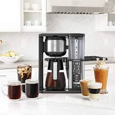 Control panel preparing your ninja® specialty coffee maker for use 1when the unit is plugged in, the clock will flash on the control panel to indicate that the time has not been set. 8 Best Single Serve Coffee Makers 2020 Top Pod Coffee Maker