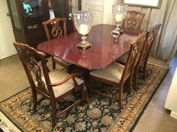 gypsy henredon dining table and chairs f86 about remodel wow home