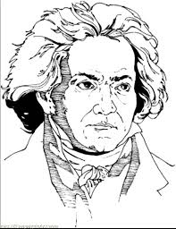 Beautiful Symphony of Beethoven Colouring Page teaching reading ludwig van beethoven biography excellent on beethoven worksheet