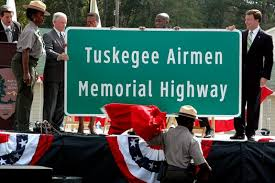 u s department of defense photo essay  bob riley left announces a portion of the i 85 interstate as the tuskegee airmen memorial highway as part of the national park services ceremony