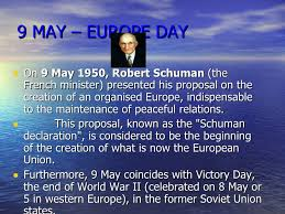 「The Schuman Declaration – 9 May 1950」の画像検索結果
