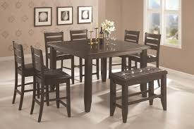 Coaster Page Contemporary Rectangular SemiFormal Dining Table - San diego dining room furniture