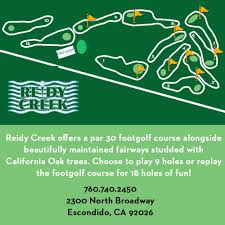 Footgolf Course Design Footgolf Reidy Creek