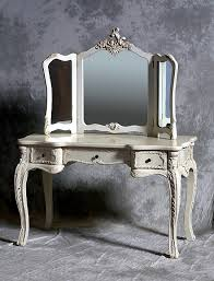 hunter interiors antique mirrored dressing table rottingdean brighton large white decorative carving artistic style