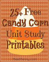25+ Candy Corn Unit Study Printable Worksheets - Meet Penny