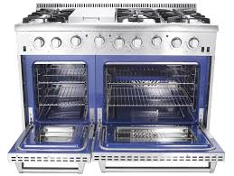 T THOR Double Oven Model HRG4808U Professional Gas Range