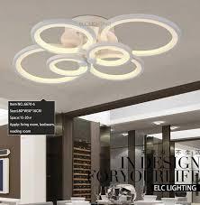 lighting modern design. Modern Ceiling Design Smart Lighting Dimmable Decoration Online Shopping Living Room 6 Ring F