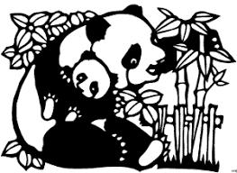 Kleurplaat Rode Panda Dieren Panda Und Baby Ausmalbild Malvorlage