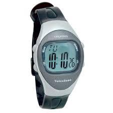 maxiaids talking watches ladies 4 alarm talking watch black silver