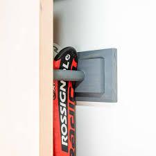 and easy diy ski rack the