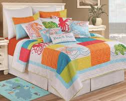 beach themed quilt bedding sets