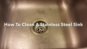 how to clean a stainless steel sink clean polish and re bar keepers friend you