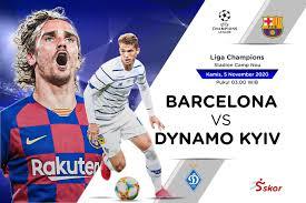 Live Streaming Barcelona vs Dynamo Kyiv ...