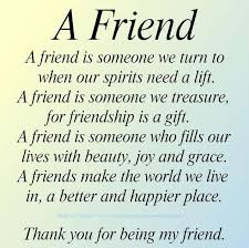 The Perfect definition for a friend | Quotes about Friendship ... via Relatably.com