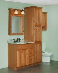 Marvelous Bathroom Vanity With Linen Cabinet In Interior Design