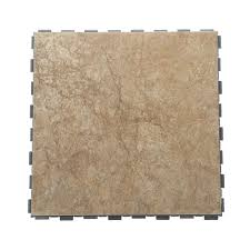 Interlocking Kitchen Floor Tiles Snapstone Paxton 12 In X 12 In Porcelain Floor Tile 5 Sq Ft