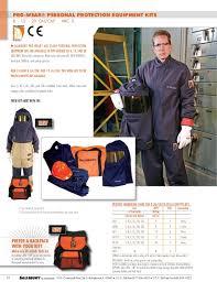 Salisbury Pro Wear Hrc2 Arc Flash Clothing Protection Kit