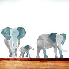 elephant wall stickers elephant wall decal jungle elephant fabric wall decals baby elephant wall stickers