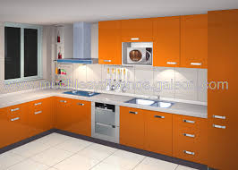 Orange And White Kitchen Simple Kitchen Room Design Images Yes Yes Go