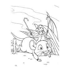 Kleurplaat Tinkerbell Geheim Van De Vleugels Leuk Voor Kids