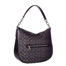 Shop COACH Chelsea 32 Signature Black Hobo Handbag - On Sale - Free  Shipping Today - Overstock.com - 20175479