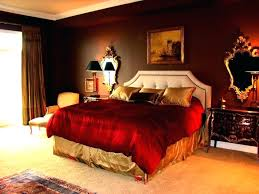 black and red room rooms warm bedroom color paint ideas home designs decor brown living colors