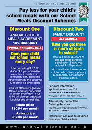 school meals discount information flyer neyland community school school meals discount flyer 2016 1