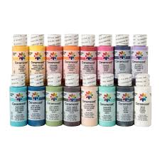 Ceramcoat Color Chart Delta Ceramcoat Acrylics 2 Oz
