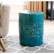 ceramic garden stool cheap. Beautiful Cheap Abbyson Bali Teal Ceramic Garden Stool In Cheap R