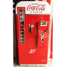Coke Bottle Vending Machine Unique CocaCola Vendo 48 Restored Coke Vending Machine FiftiesStore