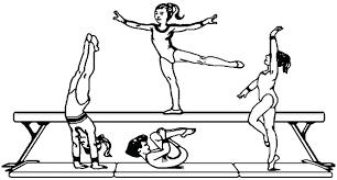 Barbie Gymnastics Coloring Pages Gymnastics Coloring Pages Printable