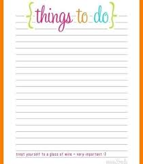 To Do List Charts Free Printable To Do List Cute World Of Printable And Chart For