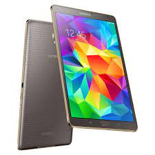 Samsung Galaxy Tab S 8.4 Tablet WiFi in bronze und Super AMOLED Display bei  notebooksbilliger.de