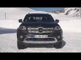 2019 Mercedes X350d 4Matic (SNOW) - Best Pickup Truck - YouTube