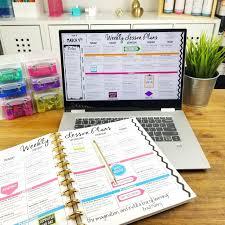 Teacher Organizer Planner The Perfect Teacher Binder For Better Classroom Organization
