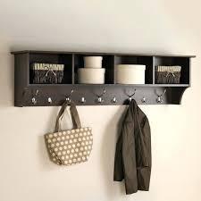 wall mounted coat hooks photo 2 of 7 coat hooks wall mounted with shelf 2 furniture