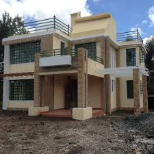 House Plan Designs In Kenya The Finished House Conte 4 Bedroom House Plan Adroit