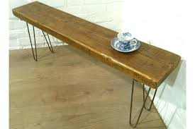 reclaimed pine dining table large hairpin legs solid rustic vintage reclaimed pine dining table seating bench