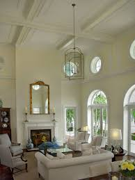 Living Room Ceiling Design High Ceiling Rooms And Decorating Ideas For Them