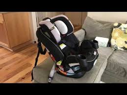how to install graco 4ever all in one