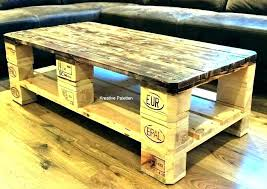coffee table out of pallet wood how to make coffee table out of pallets coffee table