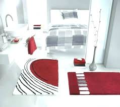 red bathroom rug set gray and red bathroom red bathroom rug set red bath rug bathroom red rugs bath mats red and black bathroom rug set